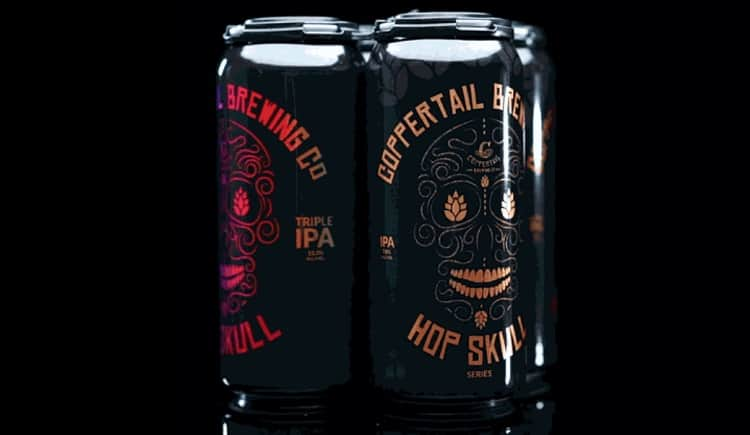 Hop Skull #14 and #15 by Coppertail Brewery