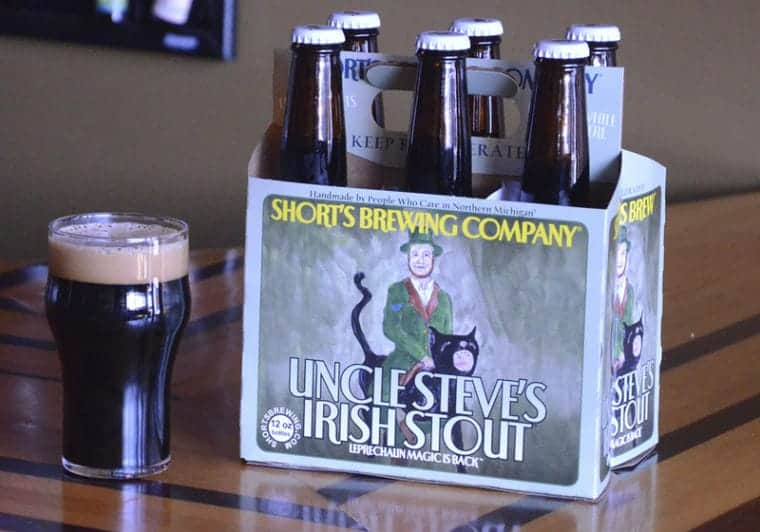 Short's Brewing Uncle Steve's Irish Stout