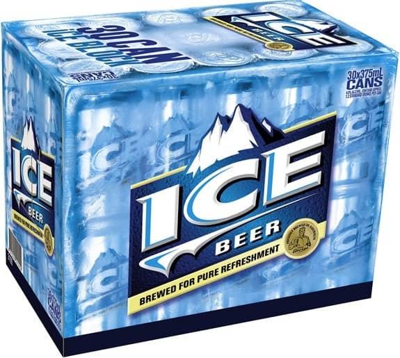 Blue Ice Beer