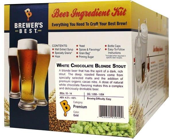 Brewer's Best White Chocolate Blonde Stout