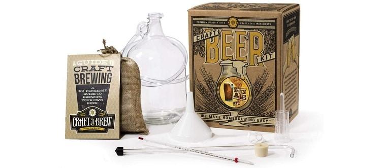 Craft the Brew Brown Ale Beer Kit – Best Variety