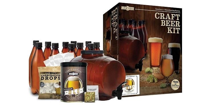 Mr. Beer Complete Beer Making Starter Kit – Ideal for Novices