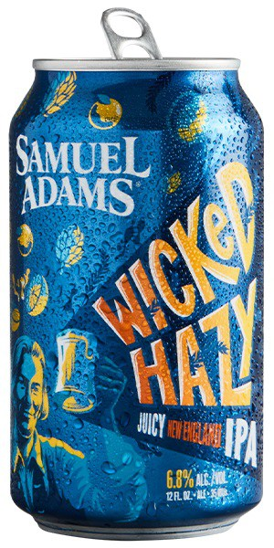 Samuel Adams Wicked Hazy beer