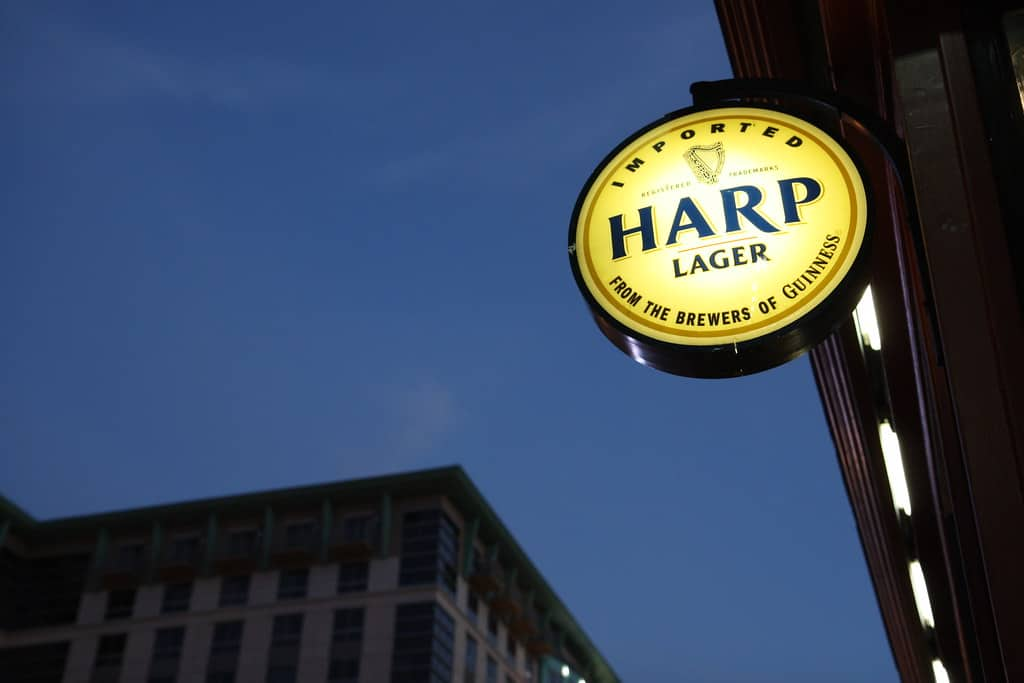 harp lager review