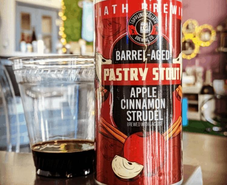 BA Pastry Stout Apple Cinnamon Strudel