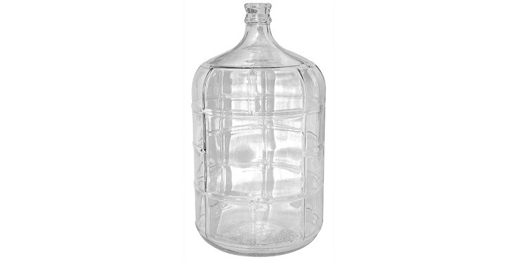 FastRack 5 Gallon Glass Carboy