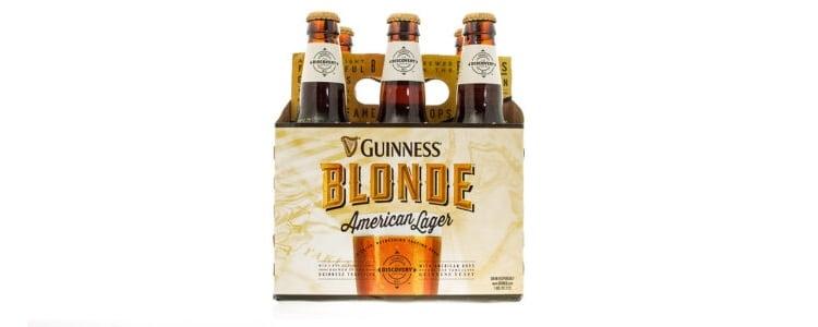 Guinness Blonde American Lager Packaging