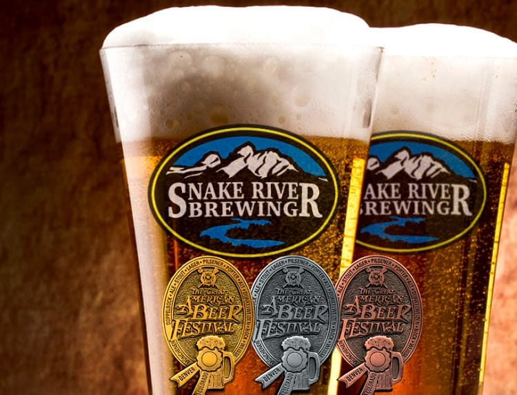 Indian Paintbrush Pilsner by Snake River Brewing Co.