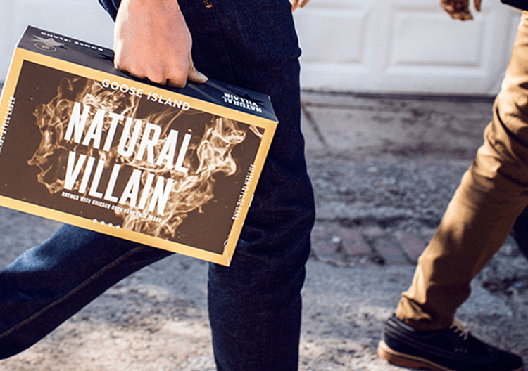 Natural Villain Garage-Style Lager