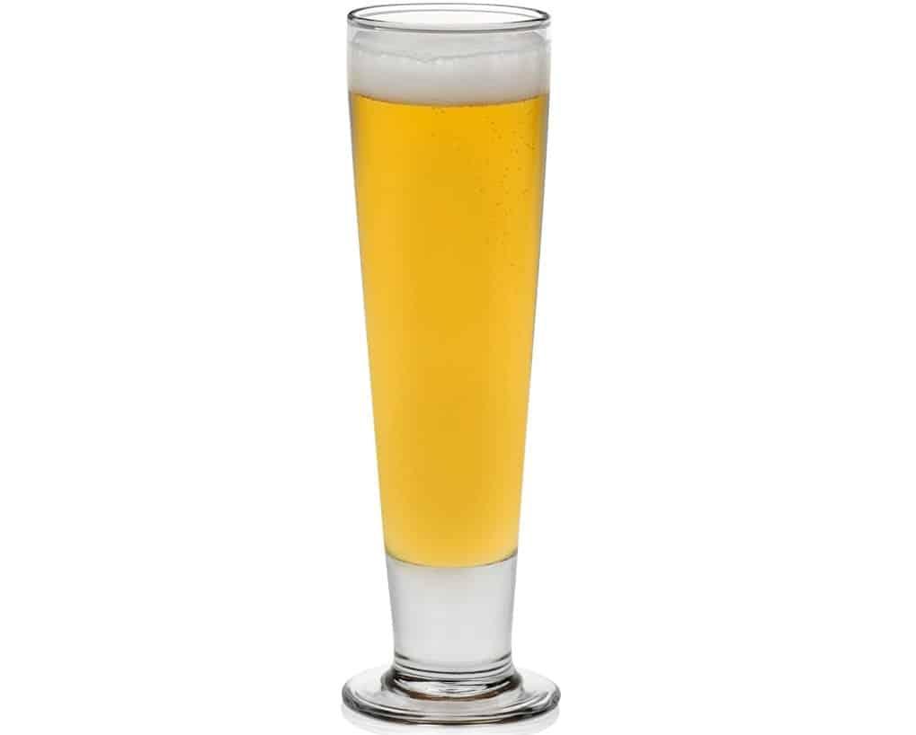 Pilsner Beer Libbey