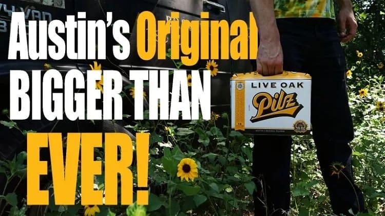 Pilz by Live Oak Brewing