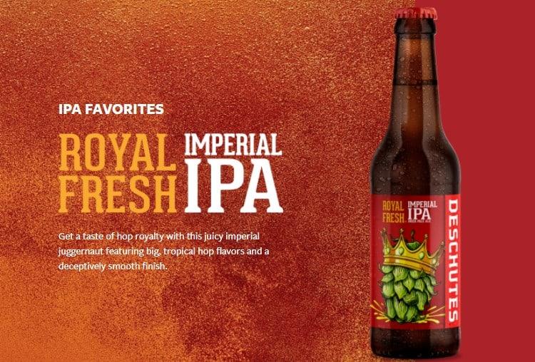 Royal Fresh Imperial IPA