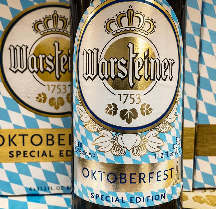 Warsteiner Oktoberfest Beer 2
