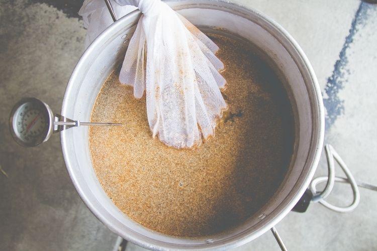 fermenting hops