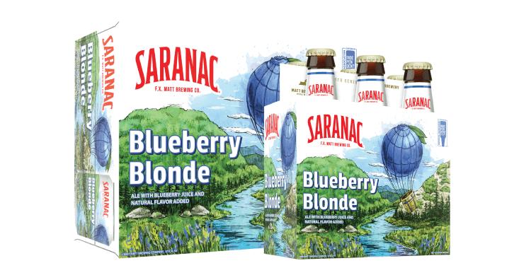 Blueberry Blonde Ale